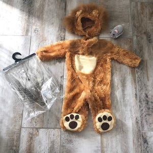 Baby boy 6-12 months Lion Costume